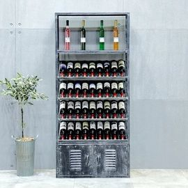 Wine Display Stainless Steel Storage Shelves Sturdy Rust Proof